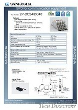 SPD for communication equipment  type: ZP-DC**