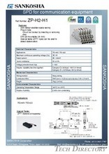 SPD for communication equipment  type: ZP-H2-H1