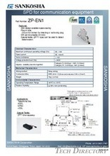 SPD for communication equipment  type: ZP-EN**