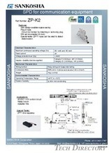 SPD for communication equipment  type: ZP-K2