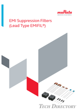 EMI Suppression Filters (Lead Type EMIFIL )