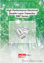 High Performance Electrical Double Layer Capacitor DMF Series