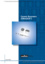Ceramic Resonators(CERALOCK)
