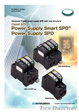 Power Supply ClassⅡ SPD type:Smart SPD/SPD