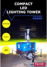 COMPACT LED LIGHTING TOWER【LT-407H】
