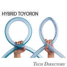 HYBRID TOYORON HOSE Pressure- and collapse-resistant resin hose