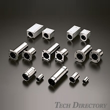 The Linear Bush is a linear guide used with a cylindrical LM shaft.
